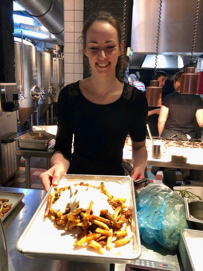 Bierbuik Lille cuisinière frites maroilles