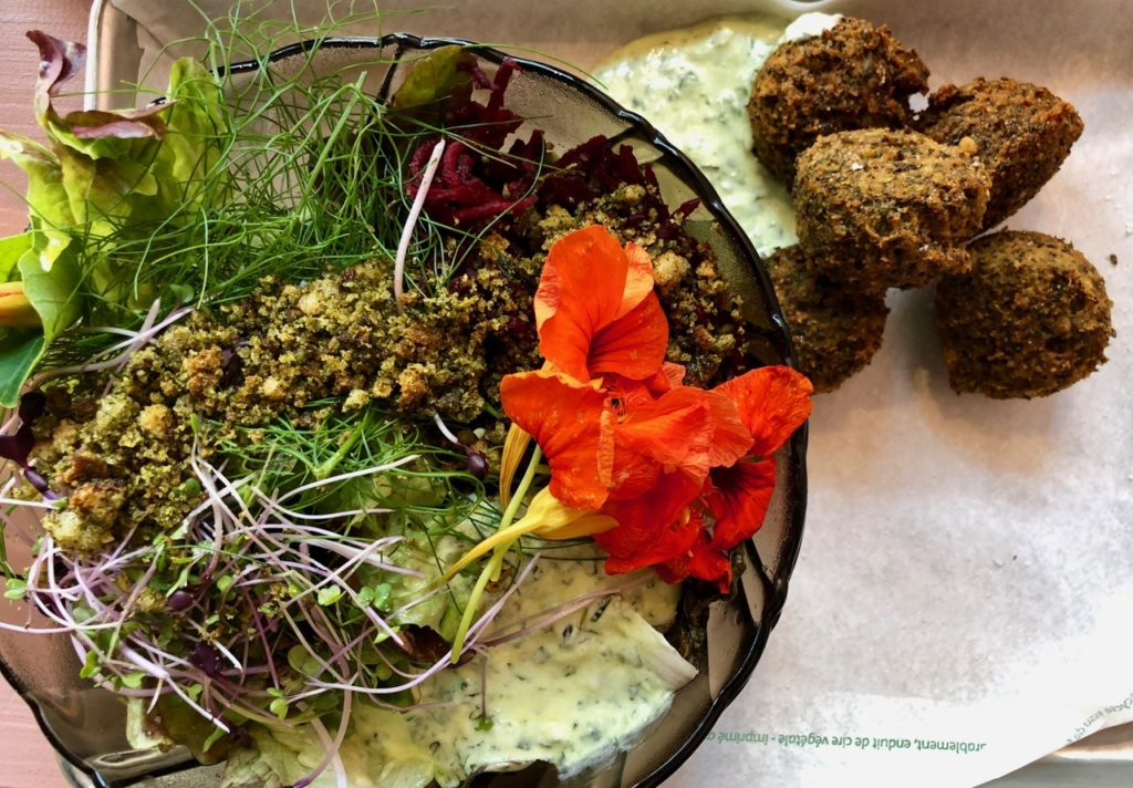 Bierbuik Lille falafels salade