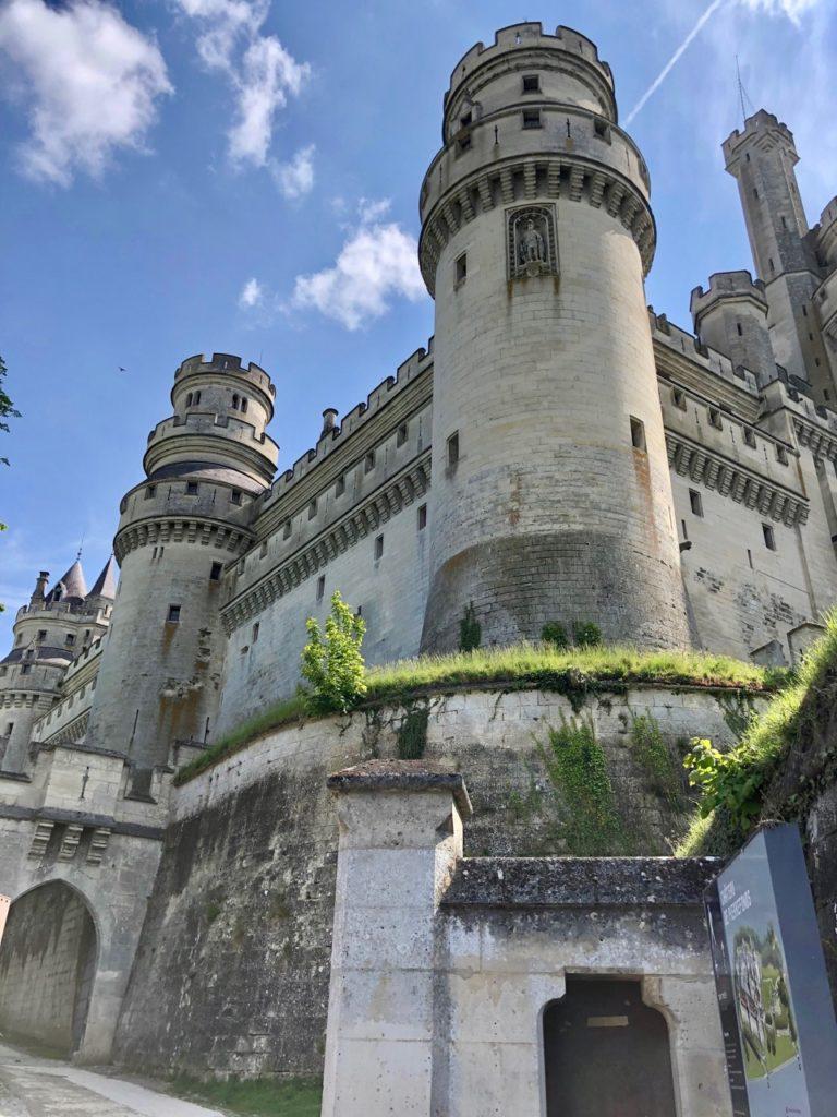 Chateau de Pierrefonds entree