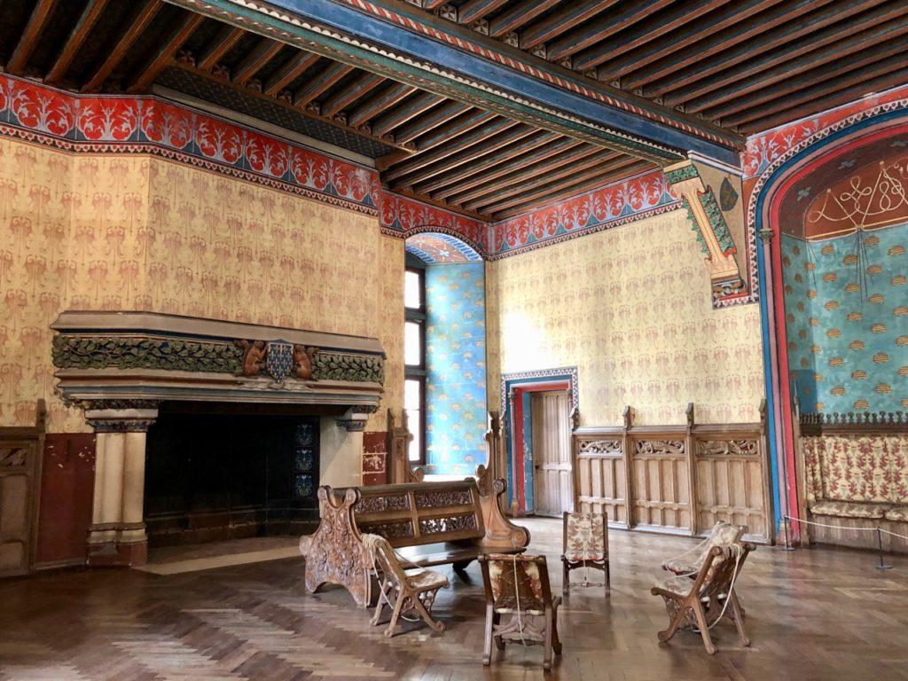 Chateau de Pierrefonds grande salle