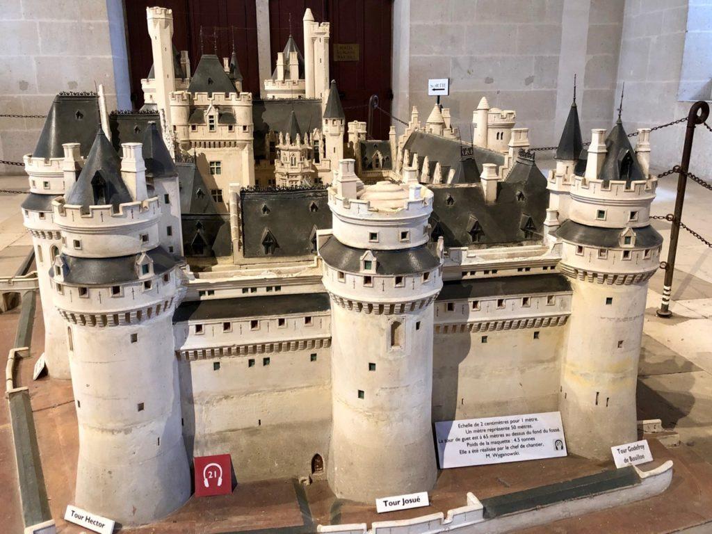 Chateau de Pierrefonds maquette