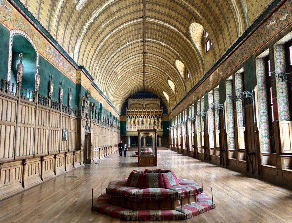 Chateau de Pierrefonds salle armures