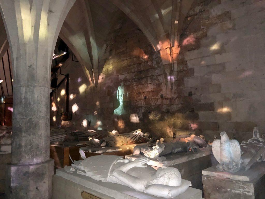 Chateau de Pierrefonds spectacle sous-sol