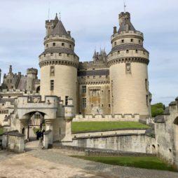 Chateau de Pierrefonds vue ensemble