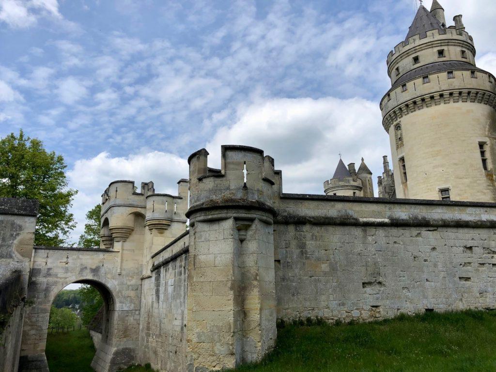 Chateau de Pierrefonds vue exterieur