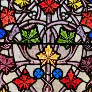 Chateau de Pierrefons chapelle vitrail
