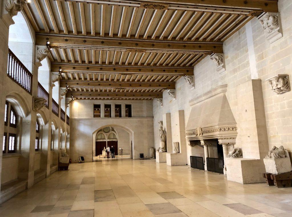 Chateau de Pierrefonds salle des gardes