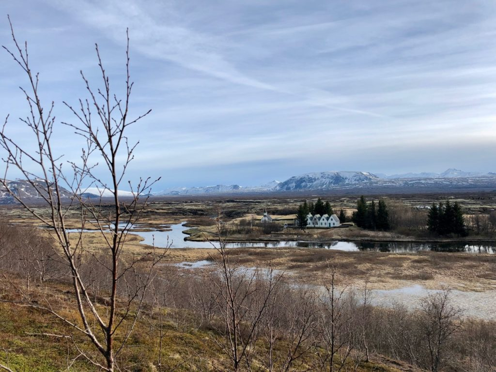 Islande cercle or pingvellir église ferme