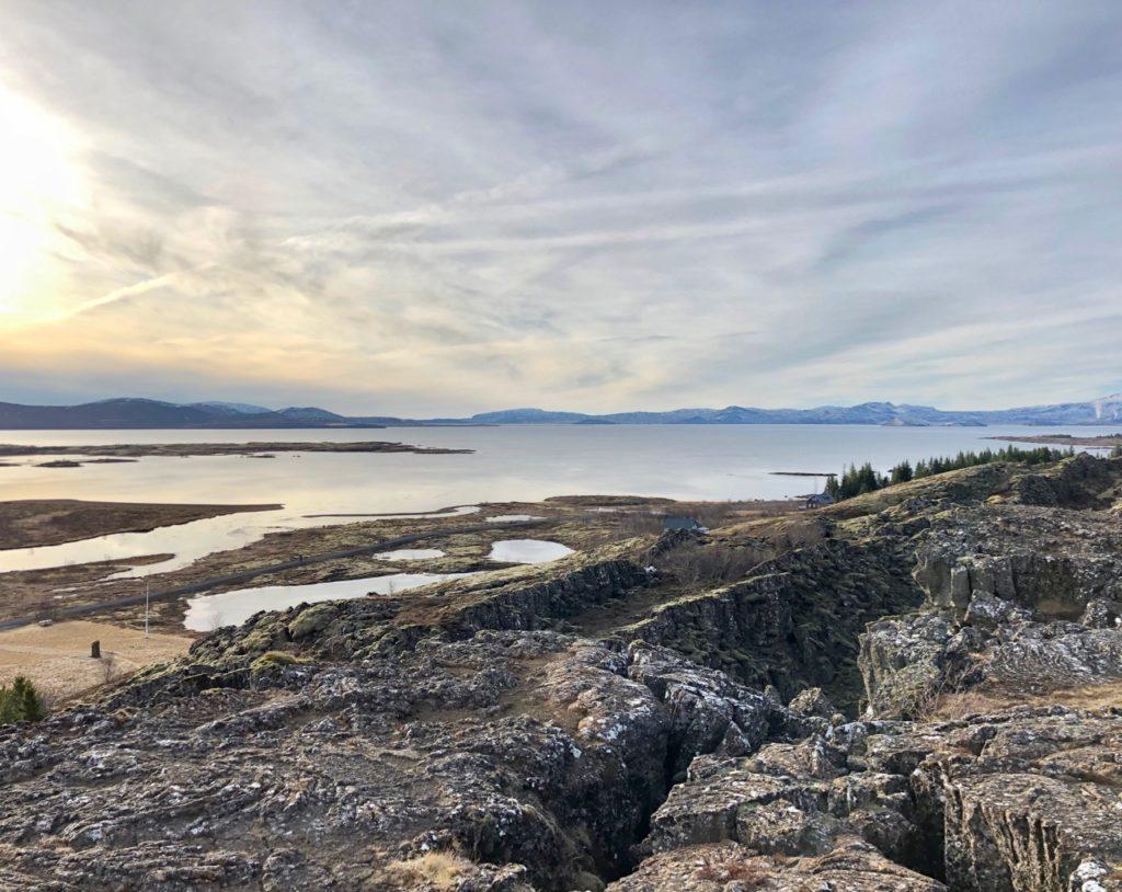 Islande cercle or pingvellir lac Pingvallavatn