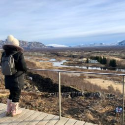 Islande cercle or pingvellir panorama