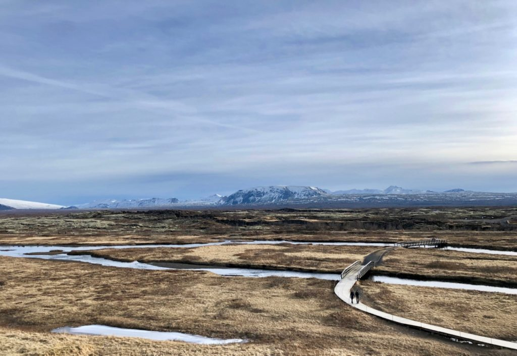 Islande cercle or pingvellir panorama grandiose