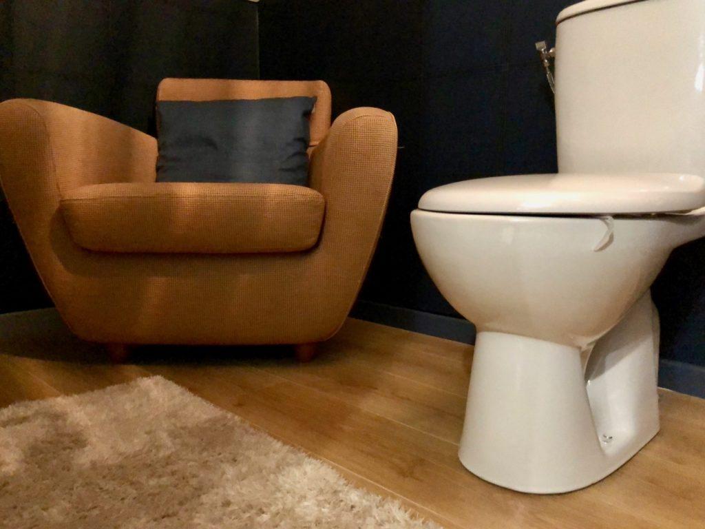 Le Baptistère Attichy toilettes