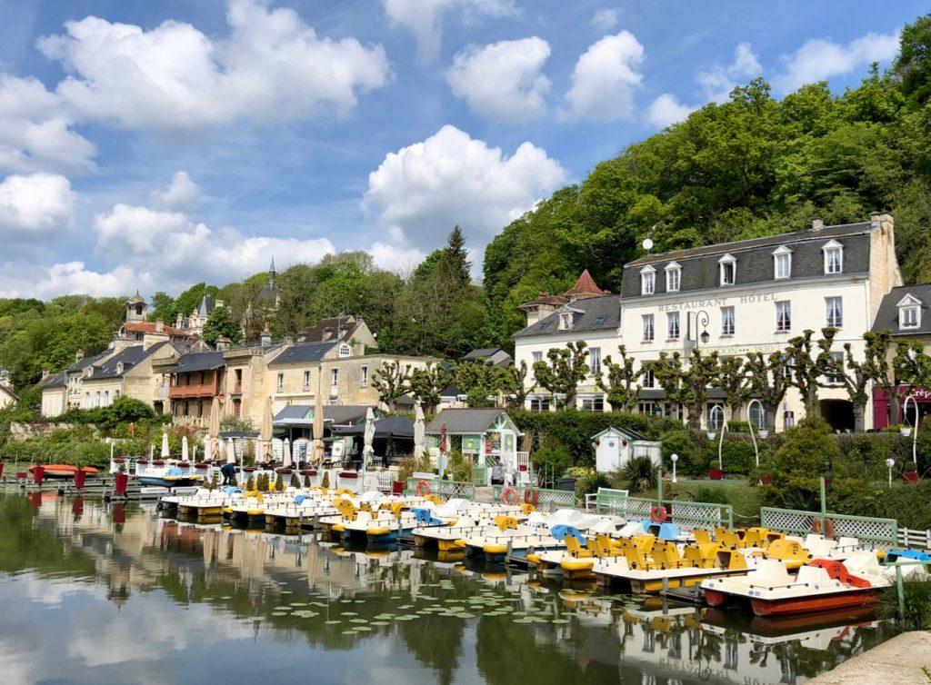 Pierrefonds hotel Beaudon petit lac