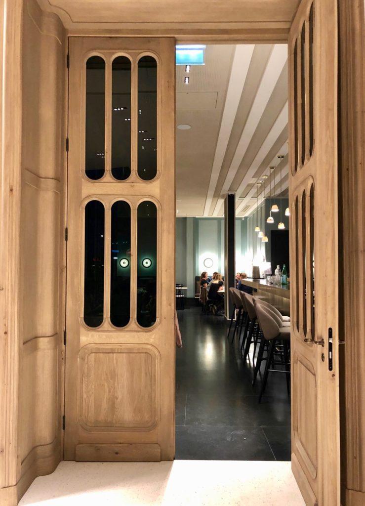 La Griotte Lille porte entrée restaurant