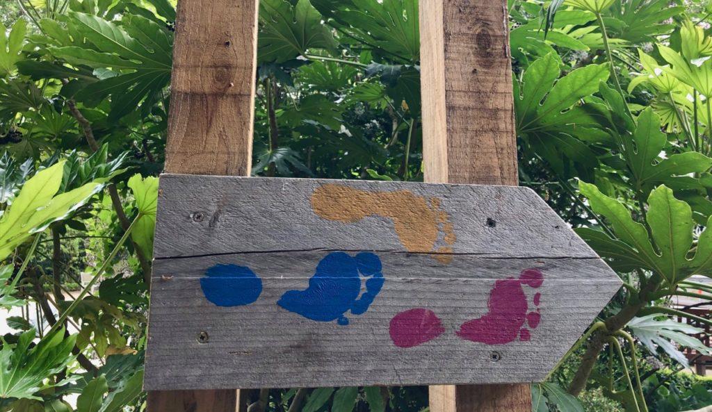 Jardin-botanique-Meise-panneau-parcours-Surprenez-vos-pieds