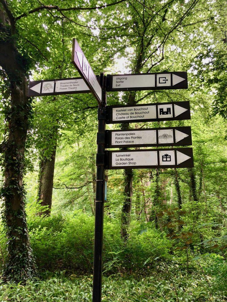 Jardin-botanique-Meise-panneaux