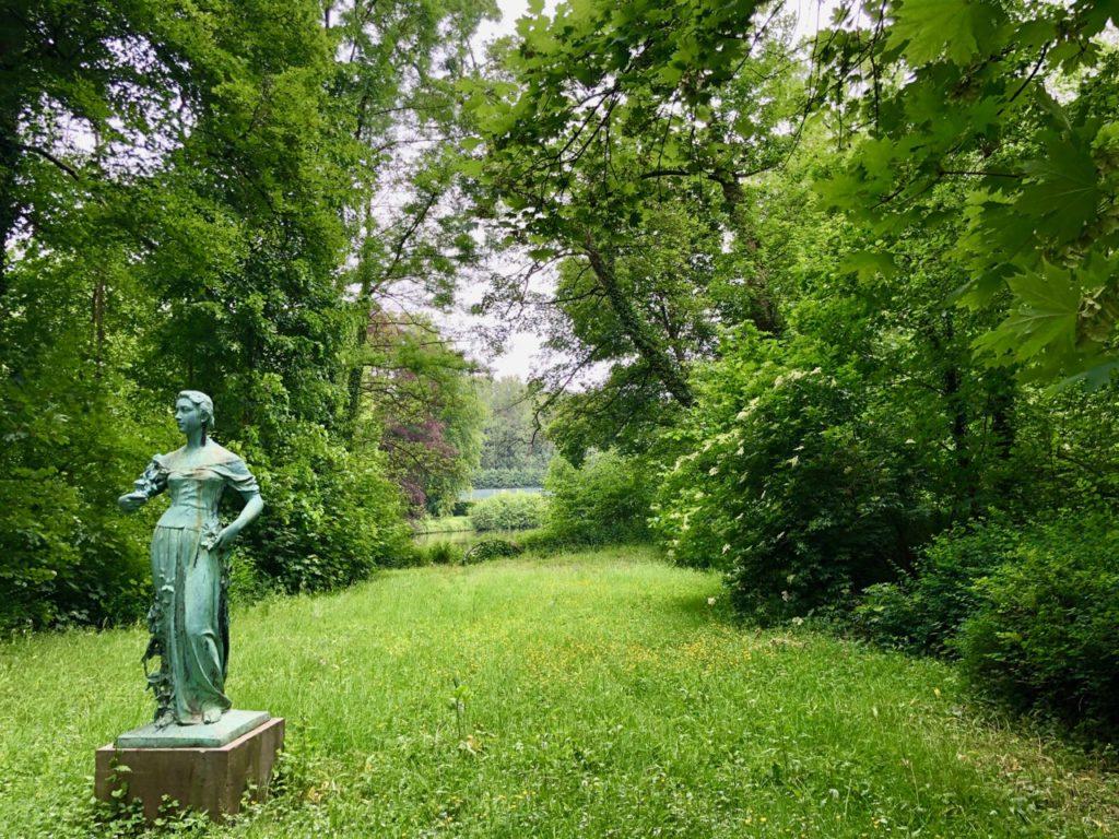 Jardin-botanique-Meise-statue