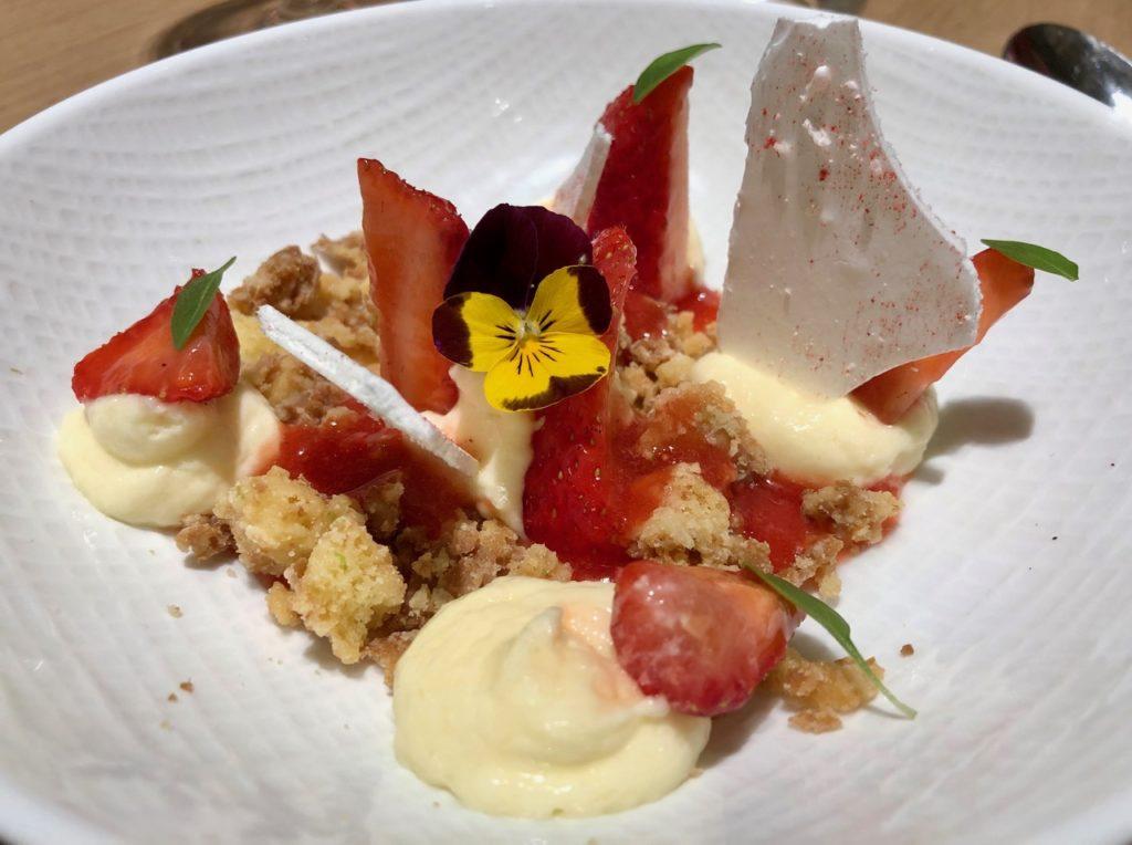 La Griotte Lille fraises sablé breton crème citron