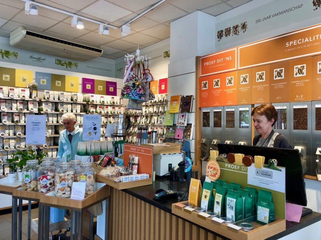 Malines café et thé Simon Levelt boutique