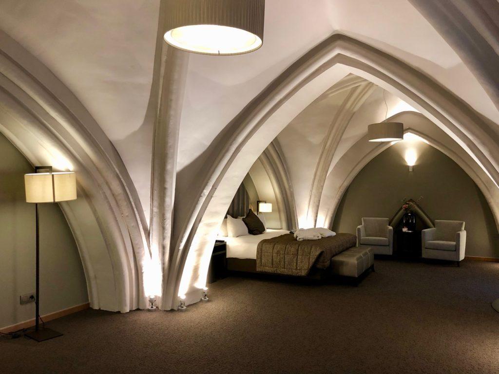 Malines hotel martins Patershof chambre un