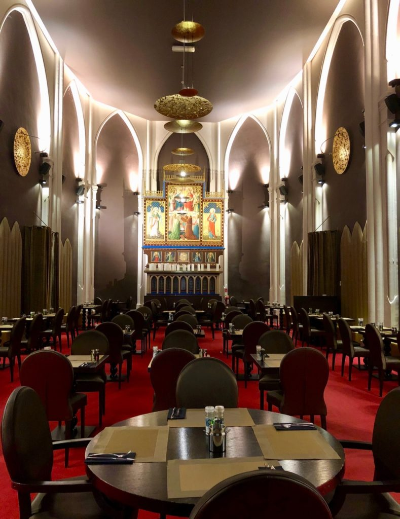 Malines hotel martins Patershof salle petit déjeuner