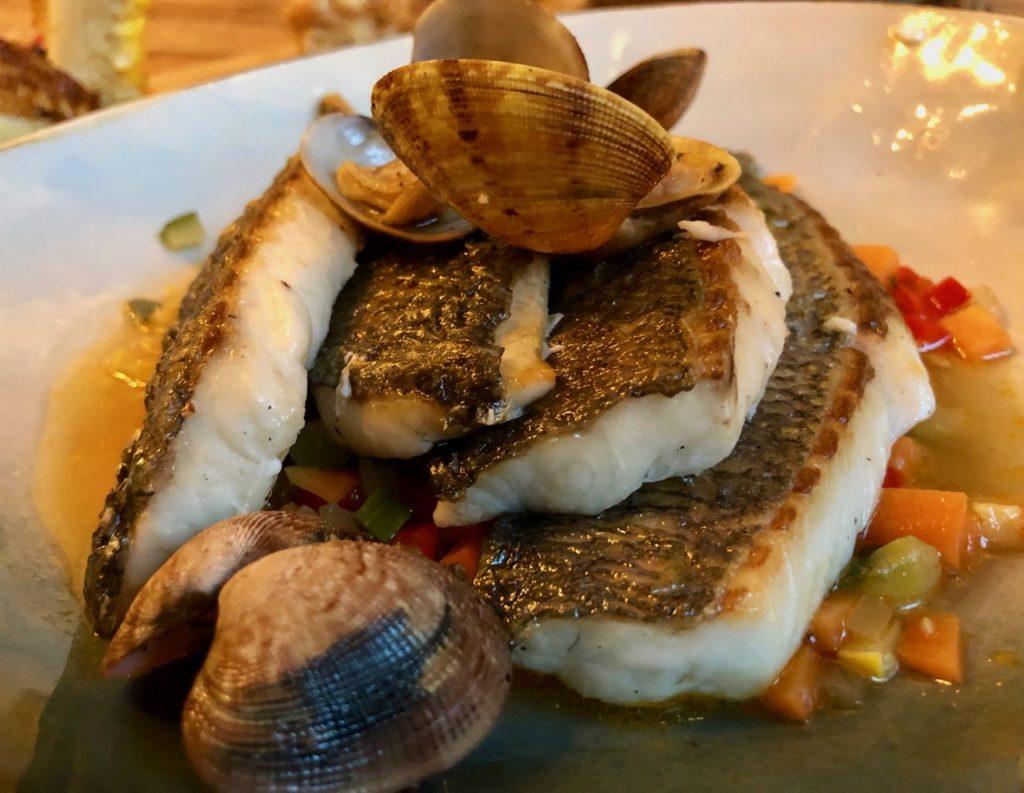 Malines restaurant De Fortuyne dorade coque