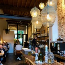 Malines restaurant De Fortuyne mur brique