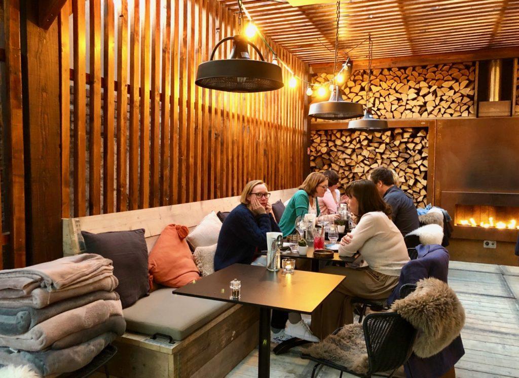 Malines restaurant De Fortuyne salle nordique