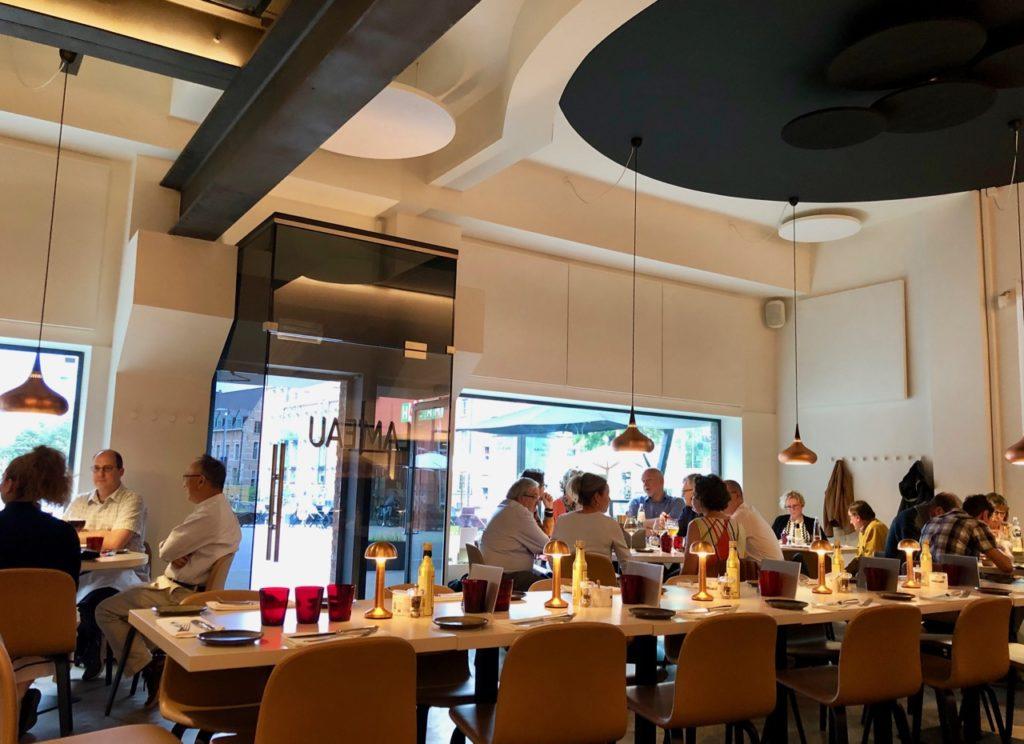 Malines restaurant Lameau salle