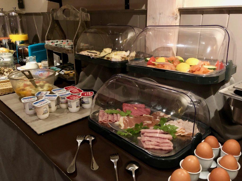 Thermes Dilbeek petit déjeuner