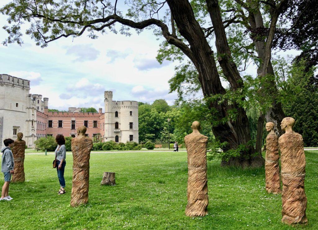 Jardin-botanique-Meise-sculptures