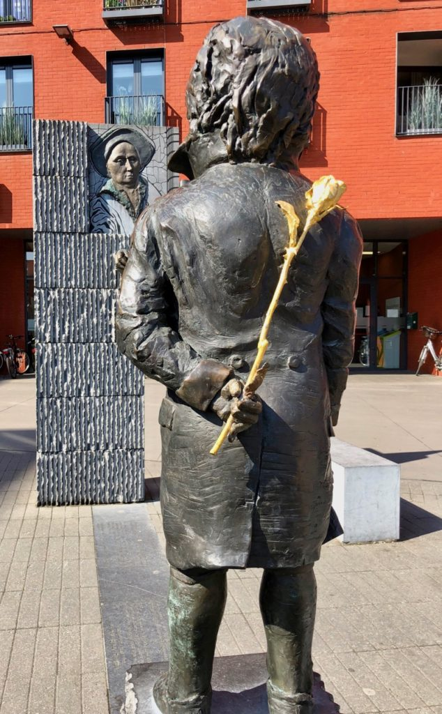 A-voir-a-Malines-statue-Beethoven