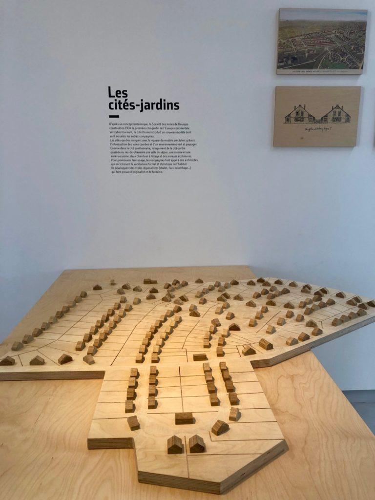 Bruay-Labuissiere-Cite-des-Electriciens-cite-jardin-maquette