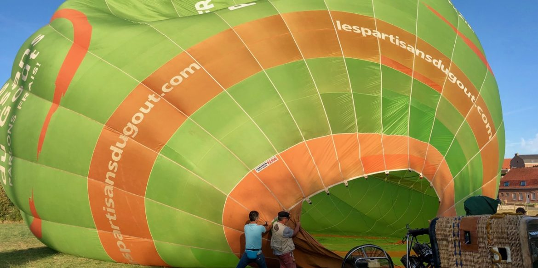 Avec Les Ballons Migrateurs, échappée belle au-dessus des Monts de Flandre