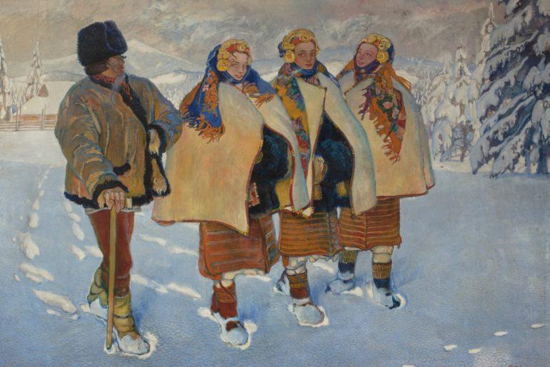 Houtsoules_dans_les_CarpatesJAROCKI_Wadysaw1910_Muse_national_de_Varsovie__Wilczyski_Krzysztof