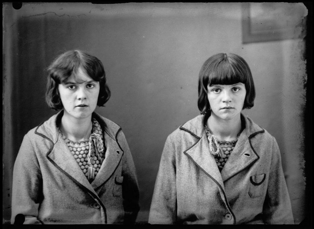Kasimir Zgorecki portrait deux jeunes filles