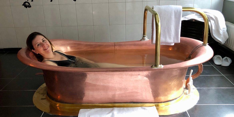 Aux Thermes de Spa, je me suis ressourcée dans une eau un peu magique