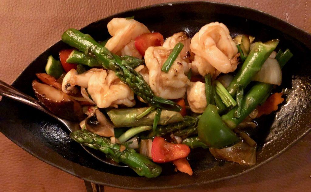 Dar-El-Siam-Mouscron-crevettes-aux-asperges-vertes