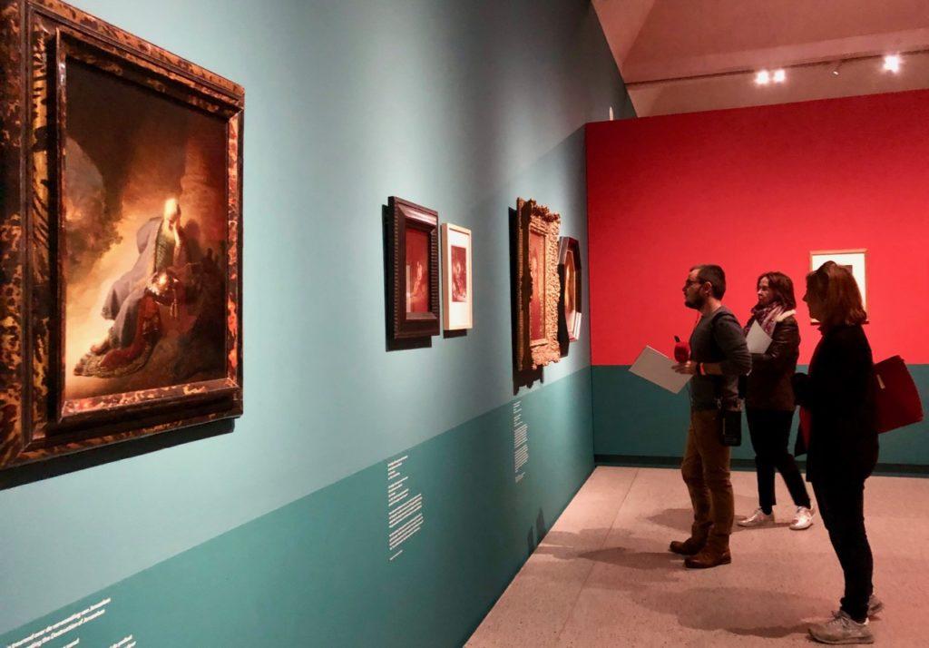 Leyde-museum-de-Lakenhal-expo-Rembrandt-vue-ensemble
