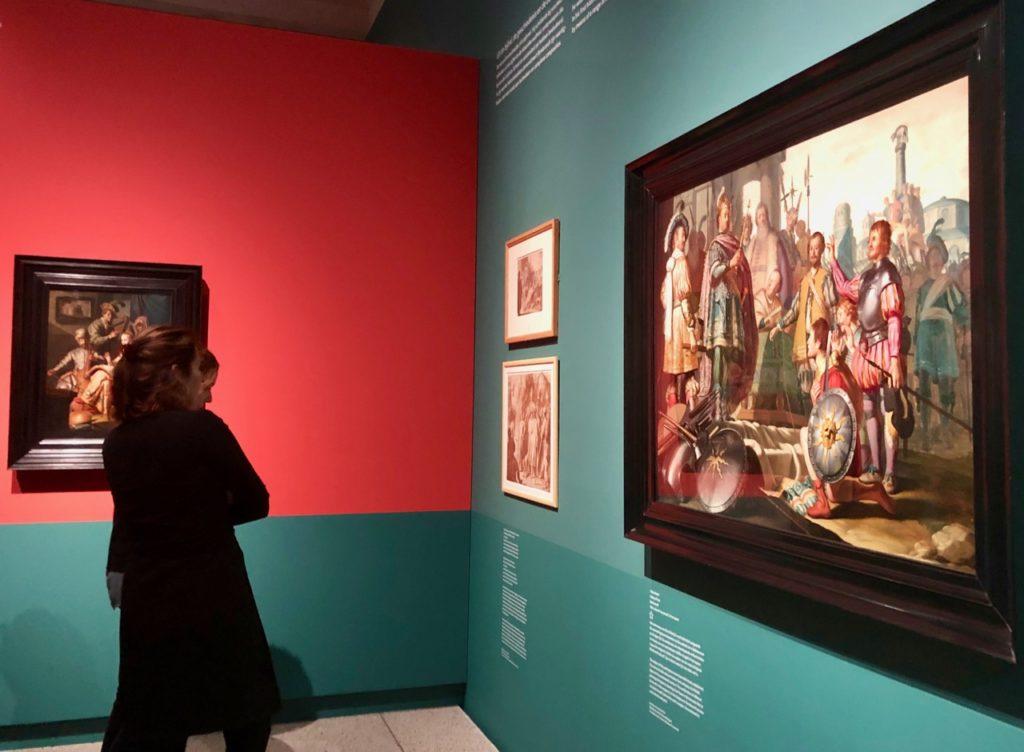 Leyde-museum-de-Lakenhal-expo-Rembrandt-vue-generale