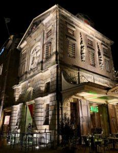 Leyde-restaurant-Waag-exterieur