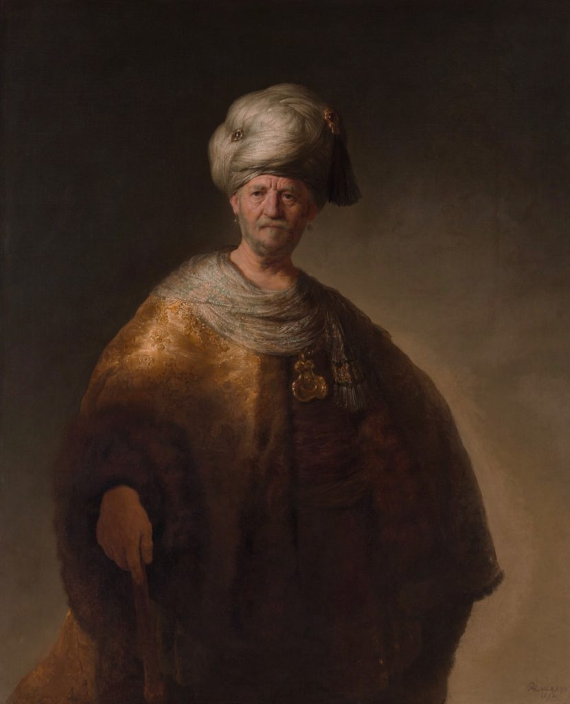 Museum-de-Lakenhal-Rembrandt-Man-in-Oriental-Costume-The-Metropolitan-Museum-of-Art-New-York