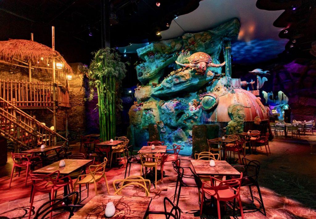 Efteling restaurant Fabula vue ensemble FOTO EFTELING - LEVIN DEN BOER