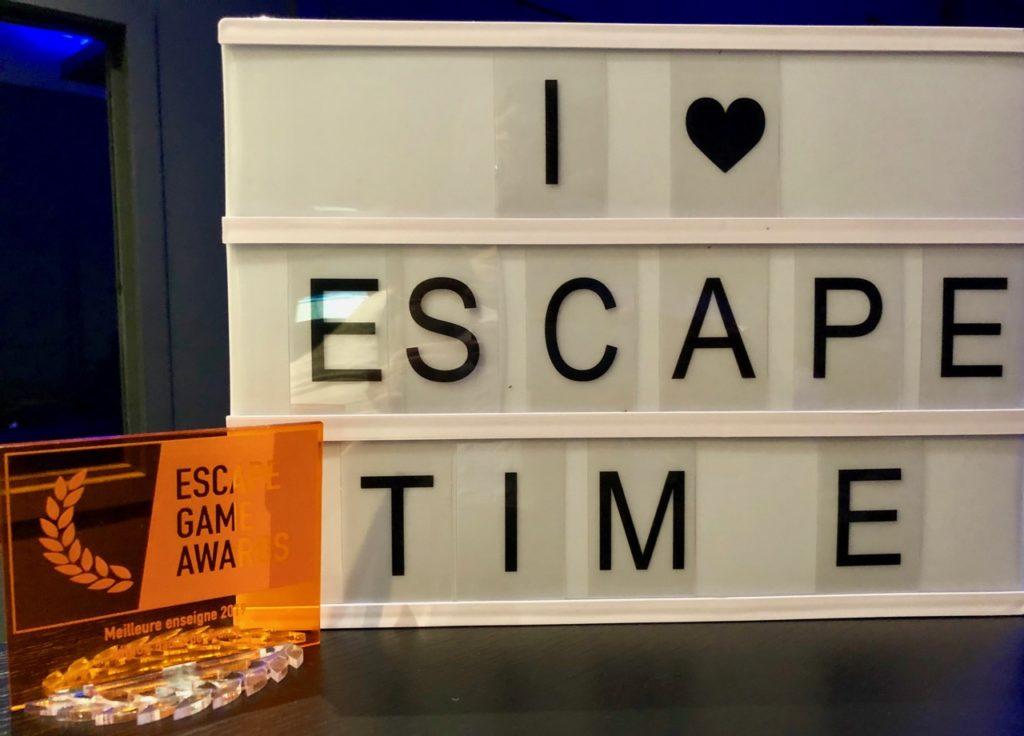 Escape-Time-panneau