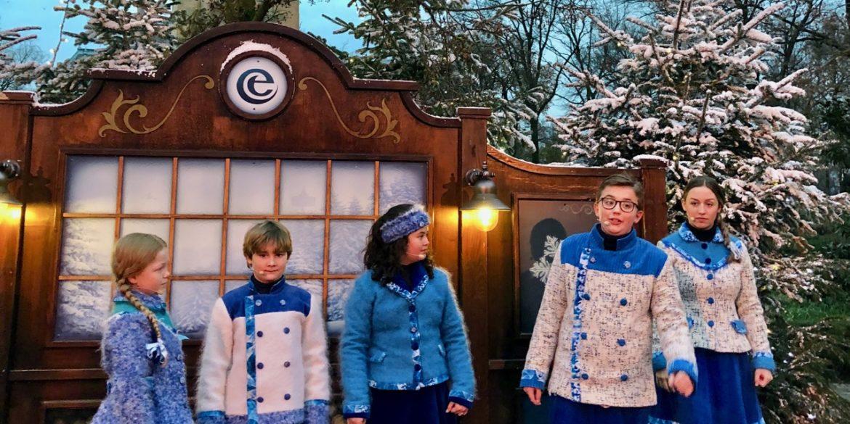 Aux Pays-Bas, le parc Efteling enfile ses habits d'hiver