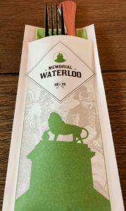 Memorial-Napoleon-Waterloo-brasserie-Wellington-couverts