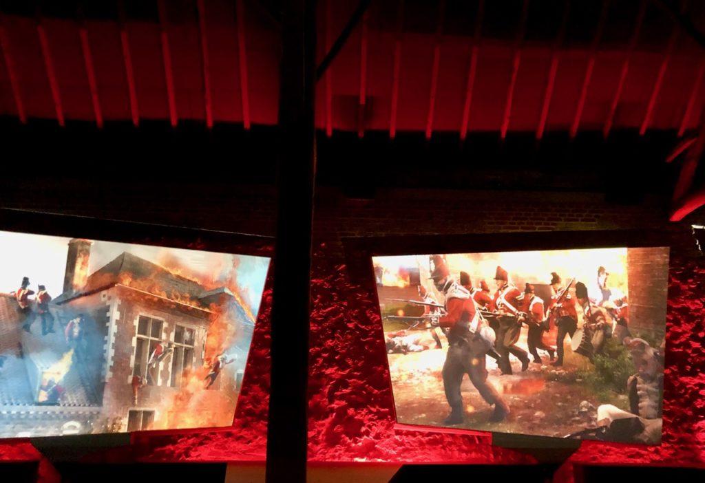 Memorial-Napoleon-Waterloo-ferme-hougoumont-film-deux