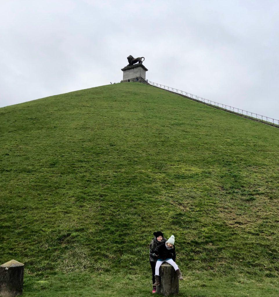 Memorial-Napoleon-butte-lion-en-bas
