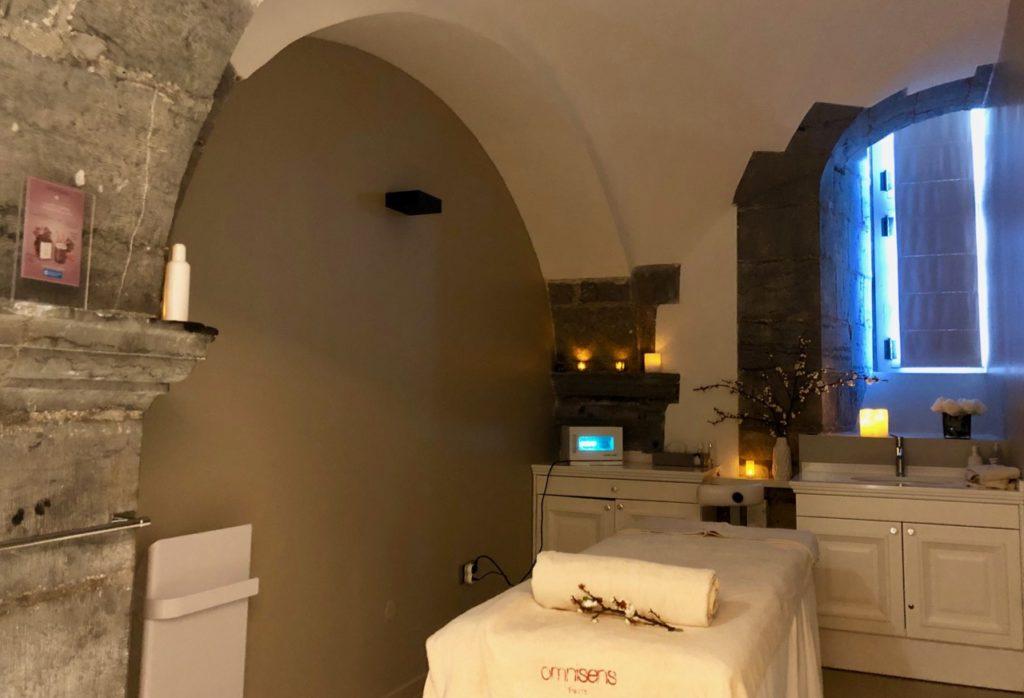 Royal Hainaut spa & resort hotel cabine massage