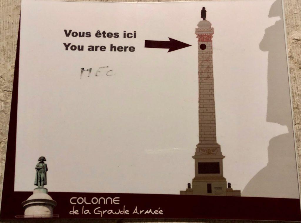 Boulogne-sur-Mer-en-plein-air-colonne-Napoleon-dans-la-montee-deux